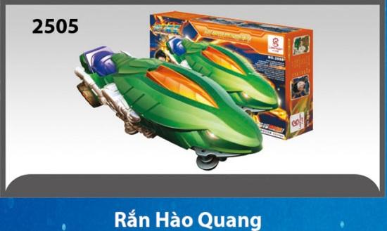 Xe lắp ráp Rắn Hào Quang - Tay Đua Ngân Hà Galaxy Racer